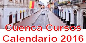 cuenca calendario cursos 2016