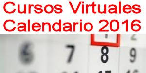 cursos virtuales calendario 2016