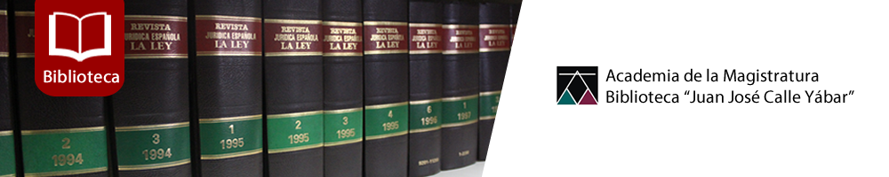 Biblioteca Academia de la Magistratura